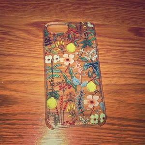 Accessories - Floral iPhone Plus case